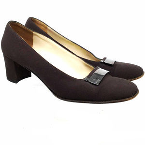 Salvatore Ferragamo Women's Shoes Sz Us 8.5 Black